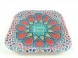 Tangier Dessert Square Paper Plates