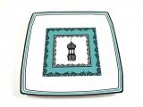Lantern Square Dinner Paper Plates
