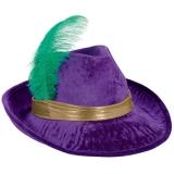 Mardi Gras Fedora Hat