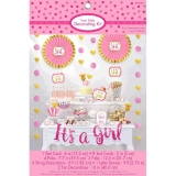 Girl Candy Buffet Decorating Kit