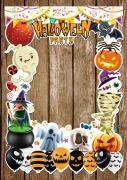 Halloween Frame 3 x-Large Size
