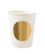 Classic Cup Gold Dot