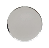 Silver Paper Plates Large