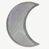 Large Moon Plate