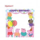 Peppa Pig Happy Birthday Frame Large Size