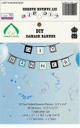 Lantern DIY Damask Banner