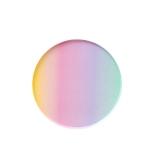 Rainbow Ombre Plates Small