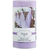 Lilac Tulle Spool