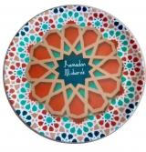 Tangier Melamine Dessert Plate