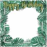 Tropical Theme Frame Small Size