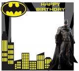 Batman Theme Frame Small size