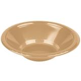 Glittering Gold Heavy Duty Plastic Bowls