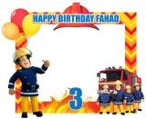 Sam Fireman Theme Frame Medium