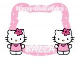 Hello Kitty Happy Birthday Frame Small Size