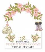 Bridal Shower Frame Medium Size