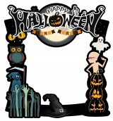 Halloween Frame 4 Medium Size