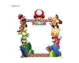 Super Mario Frame Medium Size