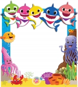 Baby Shark Frame 1 Small Size