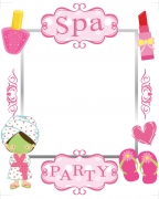 Spa Party Frame x-Large