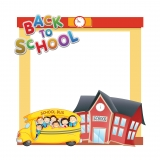 Back to School Frame 1 Large Size