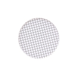 Black and White Grid Paper Plates Small