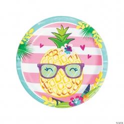 Pineapple n Friends Dinner Plates