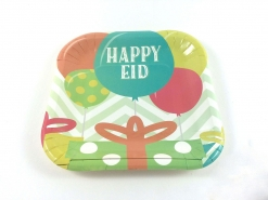 Happy Eid Party Dessert Paper Plates