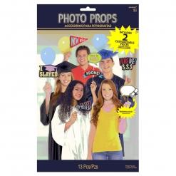 Grad Photo Props 13pcs